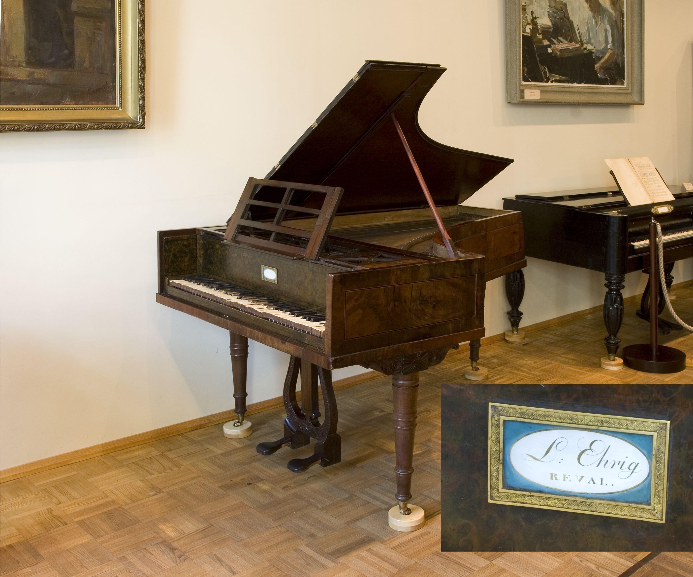 Klaver pärast konserveerimist